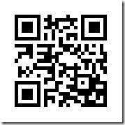 QR Code for GPS Location - Get a QR reader for your phone and scan it!