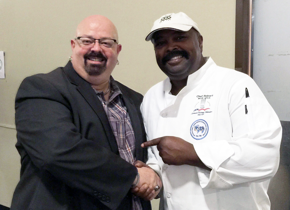 Randy Cooper Atlanta-Food-Critic.com, Chef Robert Brown Executive Chef 180˚ Kitchen
