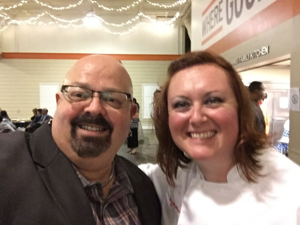 Randy Cooper Atlanta-Food-Critic.com, Chef Juliet Peters Culinary Instructor 180˚ Kitchen