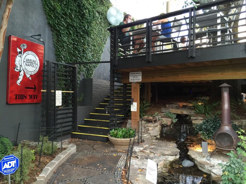 Back Entrance, Varuni Napoli, Midtown Atlanta