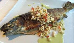 Whole Roasted Trout, The Farmhouse at Serenbe