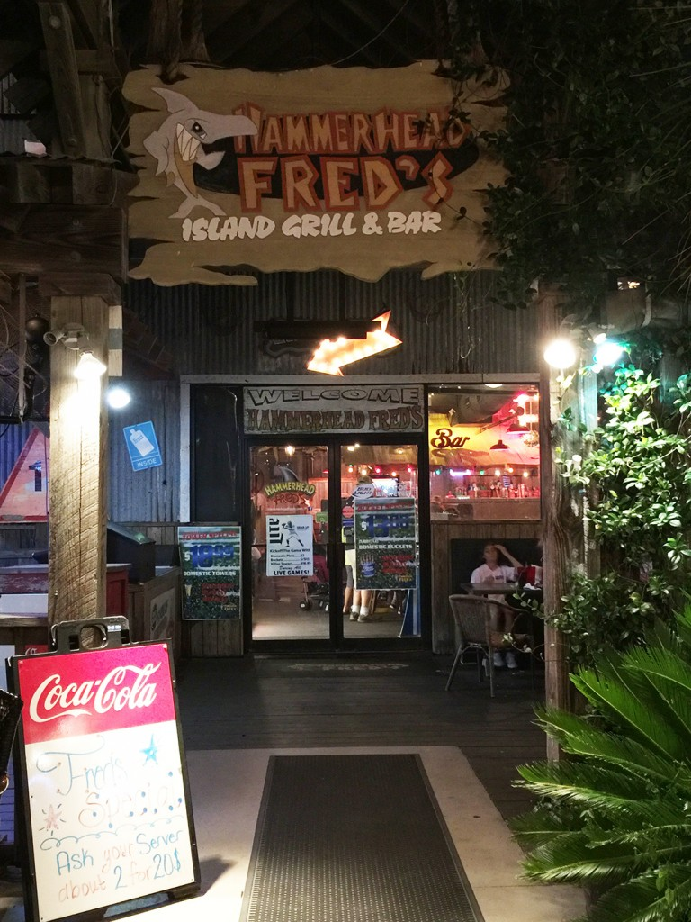 entrance-hammerhead-freds-panama-city-beach-florida
