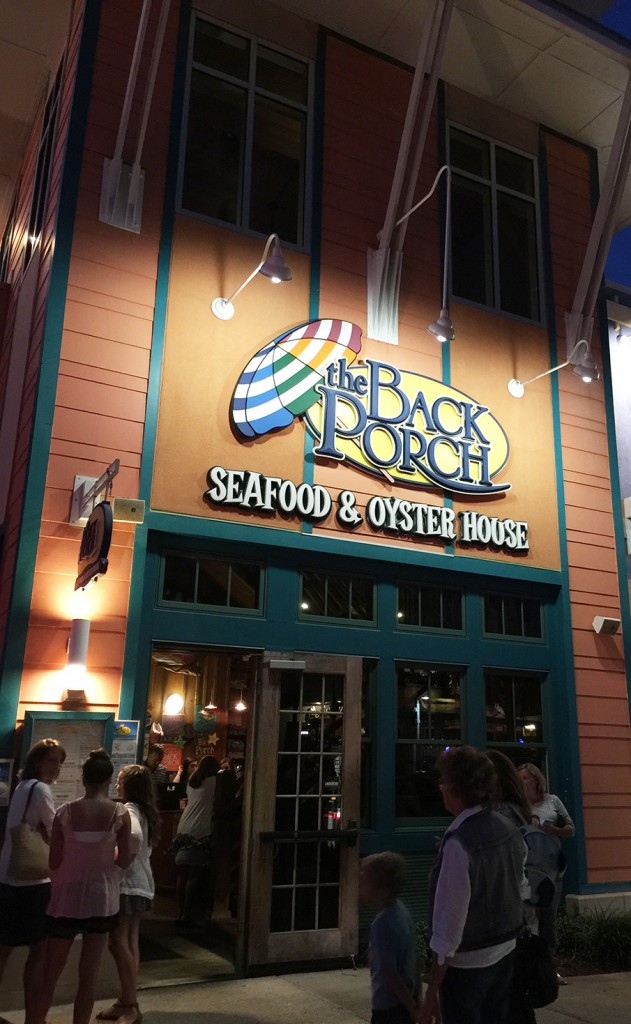 The Back Porch Seafood & Oyster House, Panama City Beach, Florida
