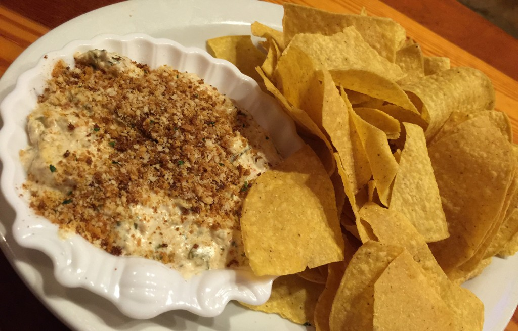 Hot Spinach Crab Dip, The Back Porch Seafood & Oyster House, Panama City Beach, Florida