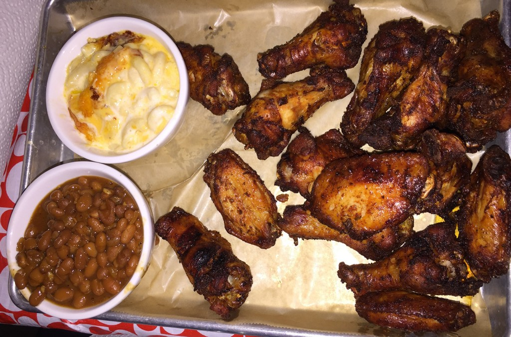 Smoked Wings, Greater Good Barbecue, Tucker, DeKalb
