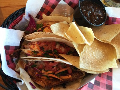 Blackened Fish Tacos, Twin Peaks, Buckhead, Atlanta