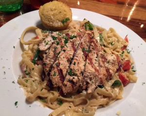 Chicken Alfredo, The Place, Athens
