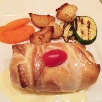 Chicken Wellington, Seven Gables Restaurant, Conyers, Rockdale County