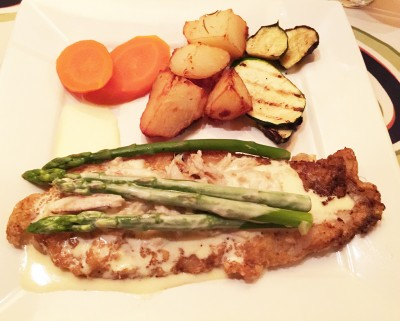 Dover Sole Oscar, Seven Gables Restaurant, Conyers, Rockdale County