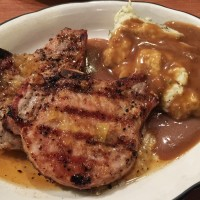 Grilled Pork Chops, Madison Chophouse Grill