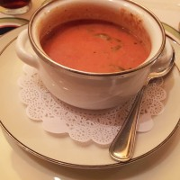 Tomato Basil Soup, Seven Gables Restaurant, Conyers, Rockdale County
