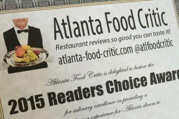 2015 Readers Choice Award