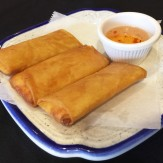 Crabmeat Cheeserolls, Taste of Thai, Norcross, Gwinnett