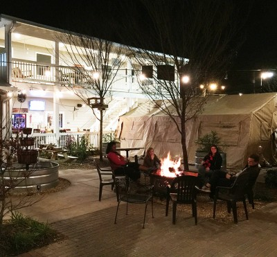 Fire Pit Social, Saucehouse Barbecue, Athens