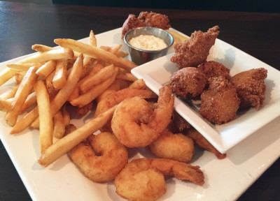 Fried Shrimp, Bone Island Grillhouse, Lake Oconee, Eatonton, Putnam County