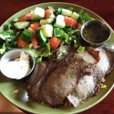 Business Lunch - Gryo, Olive Bistro Mediterranean Café, Brookhaven, DeKalb