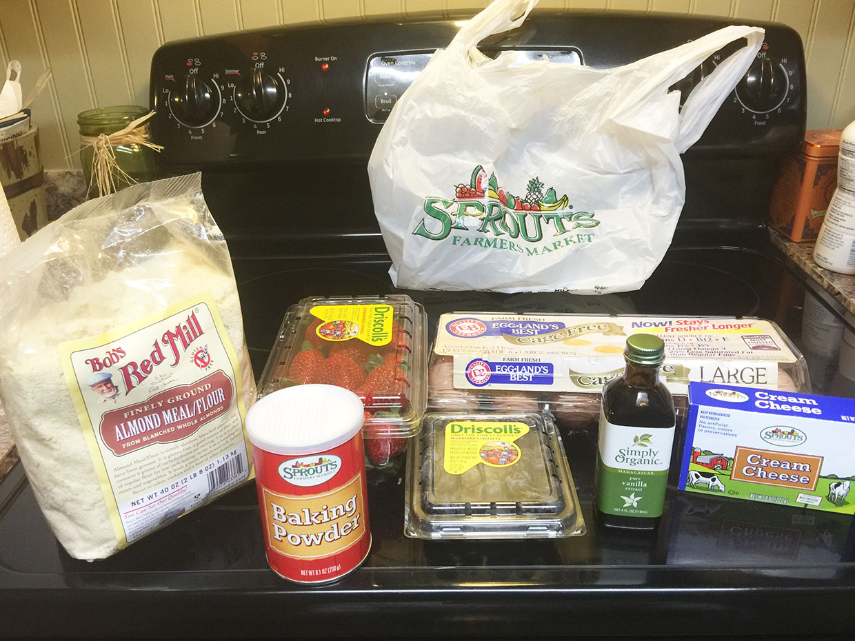 Organic ingredients from our friends at Sprouts!