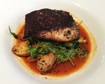Blackened Mahi Mahi, Reel Seafood, Woodstock, Cherokee County