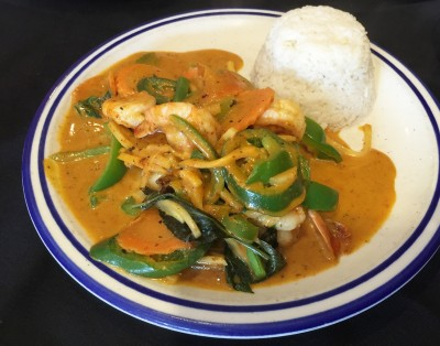 Red Curry with Shrimp, Taste of Thai, Norcross, Gwinnett