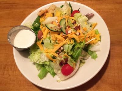 Side Salad, Jim 'N Nick's, Conyers, Rockdale County