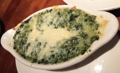 Creamed Spinach, Stoney River Steakhouse and Grill, Duluth, Johns Creek, Gwinnett, North Fulton