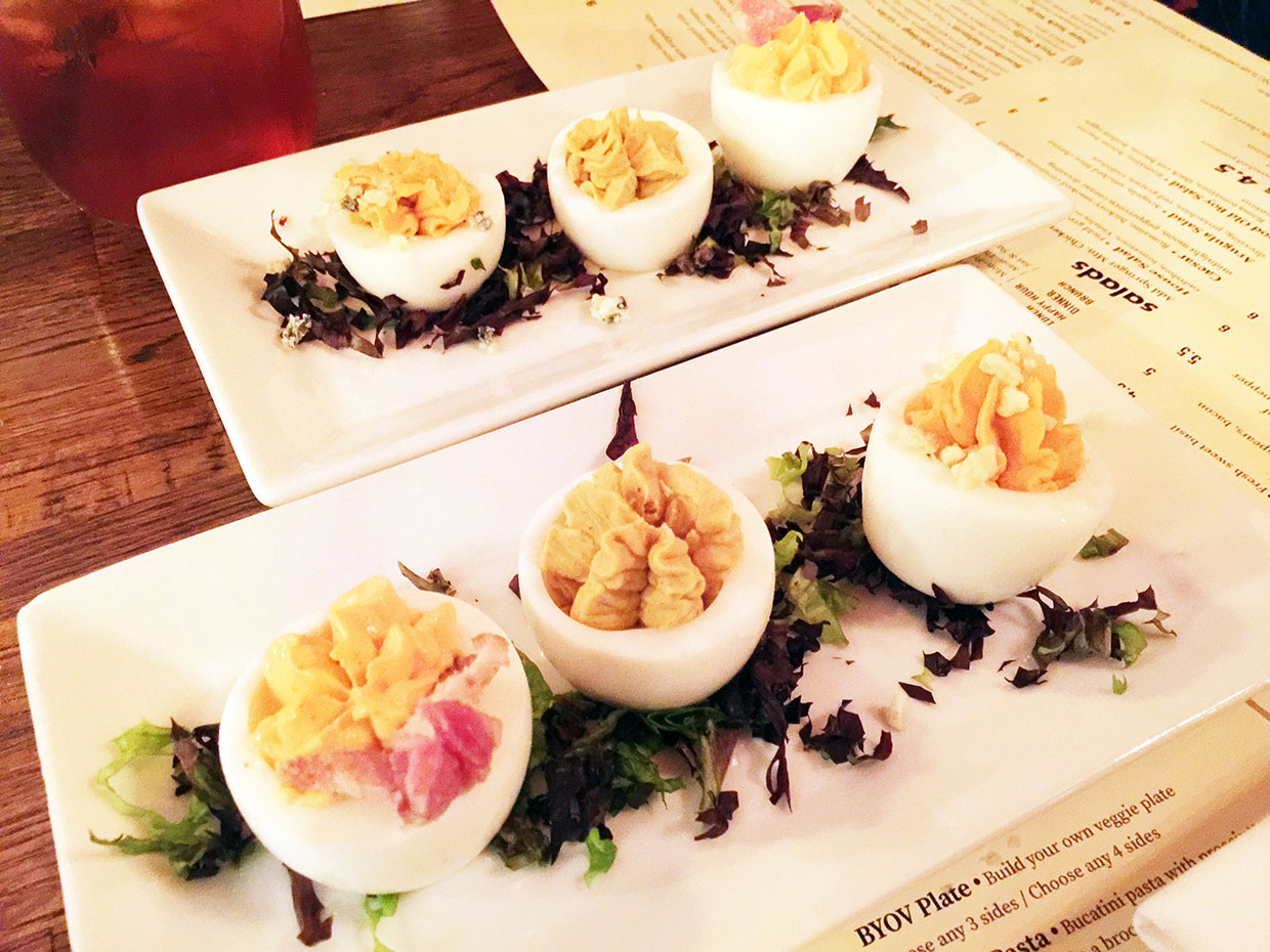 Deviled Eggs, South Kitchen + Bar, Athens