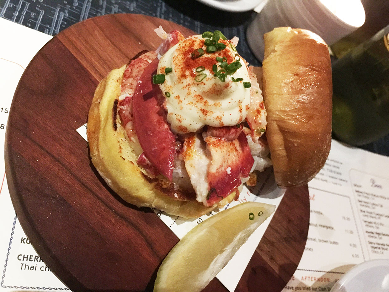 Lobster Roll, Beetlecat, Inman Park, Atlanta, Fulton
