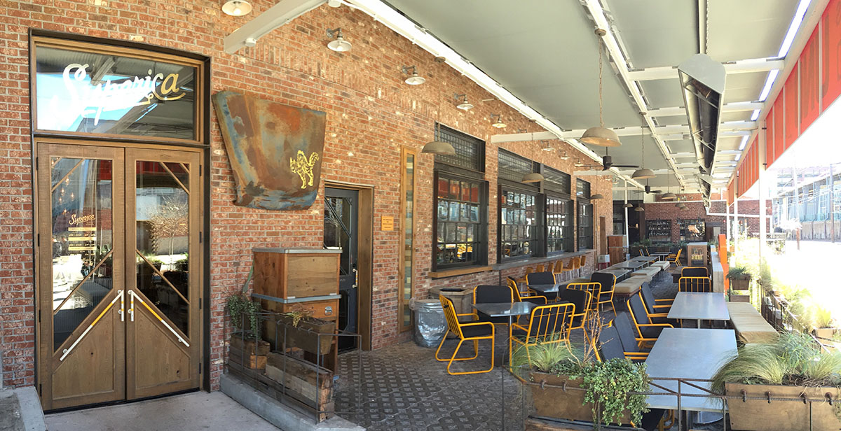 Review superica inman park atlanta fulton atlanta for Restaurants with outdoor seating