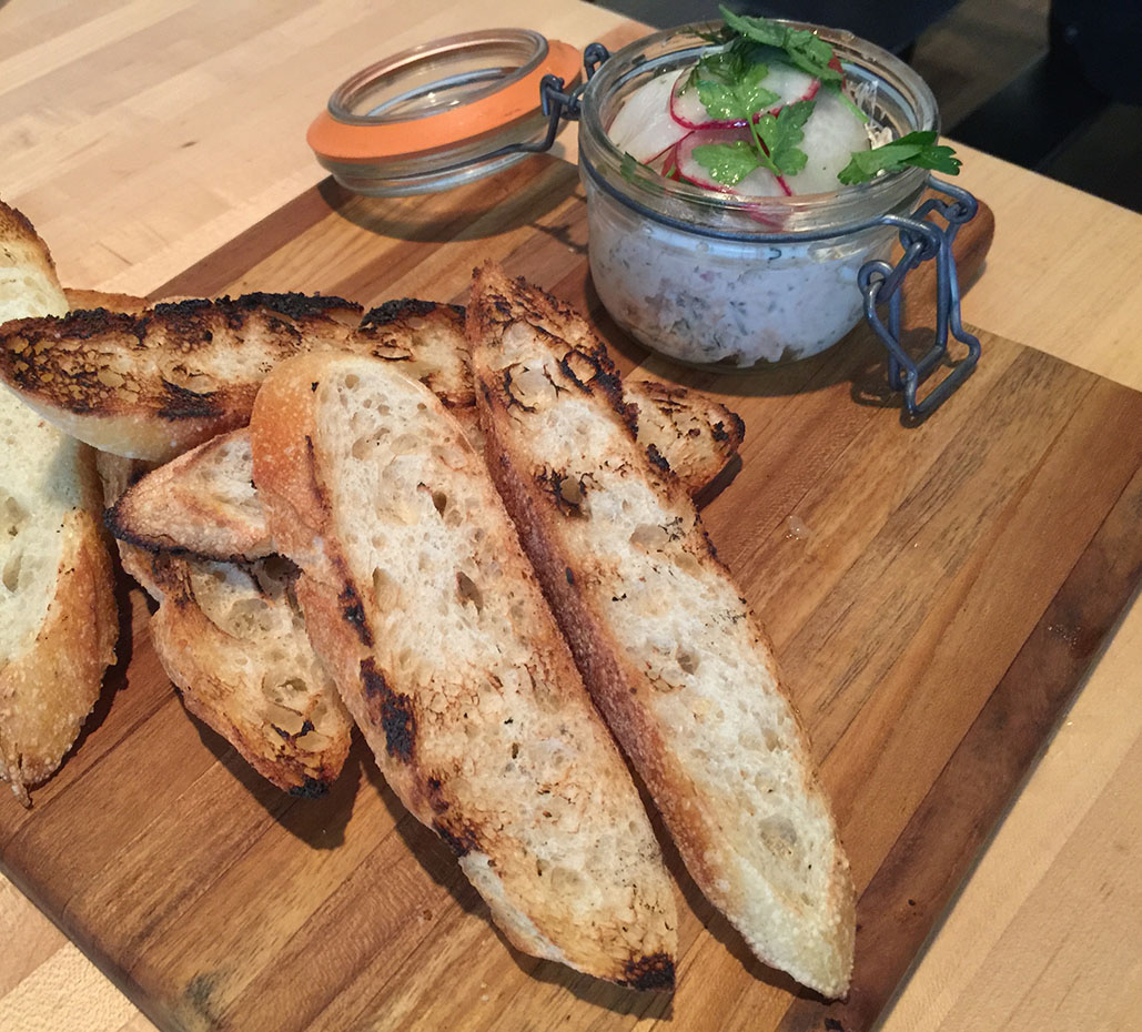 House Smoked Salmon Spread, Seed Kitchen & Bar, Merchant's Walk, Marietta, East Cobb