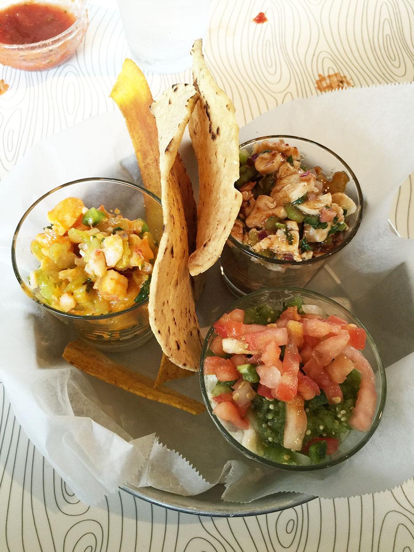 Tres Ceviches, PURE taqueria, Brookhaven, DeKalb