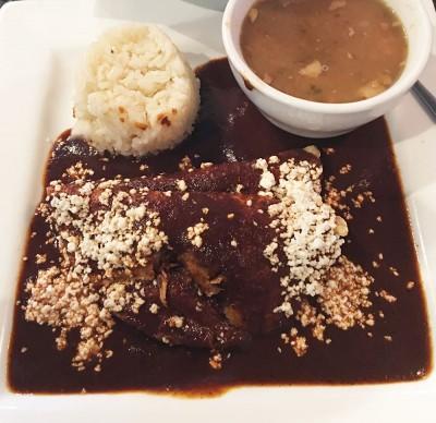 Enchiladas de Mole, Zapata Tacos and Tequila Bar, Norcross, Gwinnett