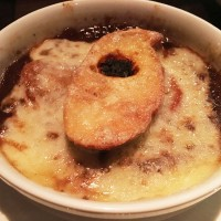 French Onion Soup Gratin, The Mercury, Ponce City Market, Atlanta, Fulton