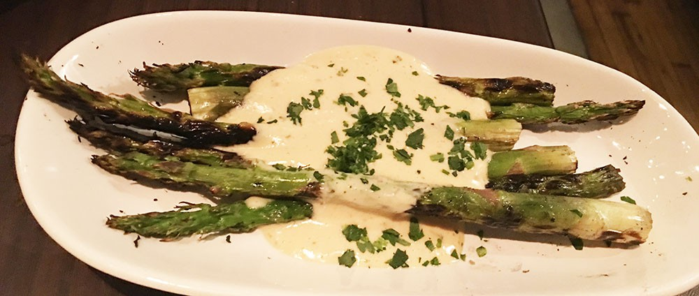 Grilled Asparagus Bearnaise, The Mercury, Ponce City Market, Atlanta, Fulton