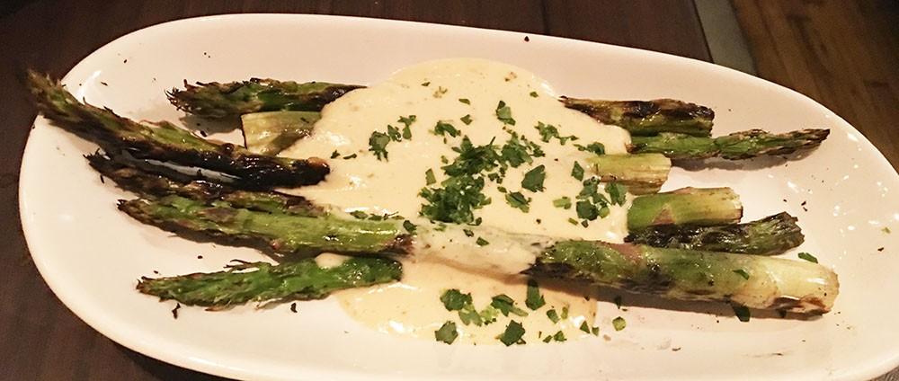 Grilled Asparagus Bearnaise, The Mercury, Ponce City Market, Atlanta, Fulton