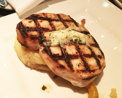 Grilled Swordfish, The Mercury, Ponce City Market, Atlanta, Fulton