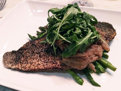 Pan Seared Redfish, Community Smith, Midtown Atlanta, Fulton