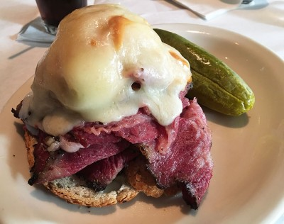 Pastrami Reuben with Kosher Pickle, The Tavern at Phipps, Phipps Plaza, Buckhead