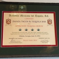Looks official to me!, Zapata Tacos and Tequila Bar, Norcross, Gwinnett