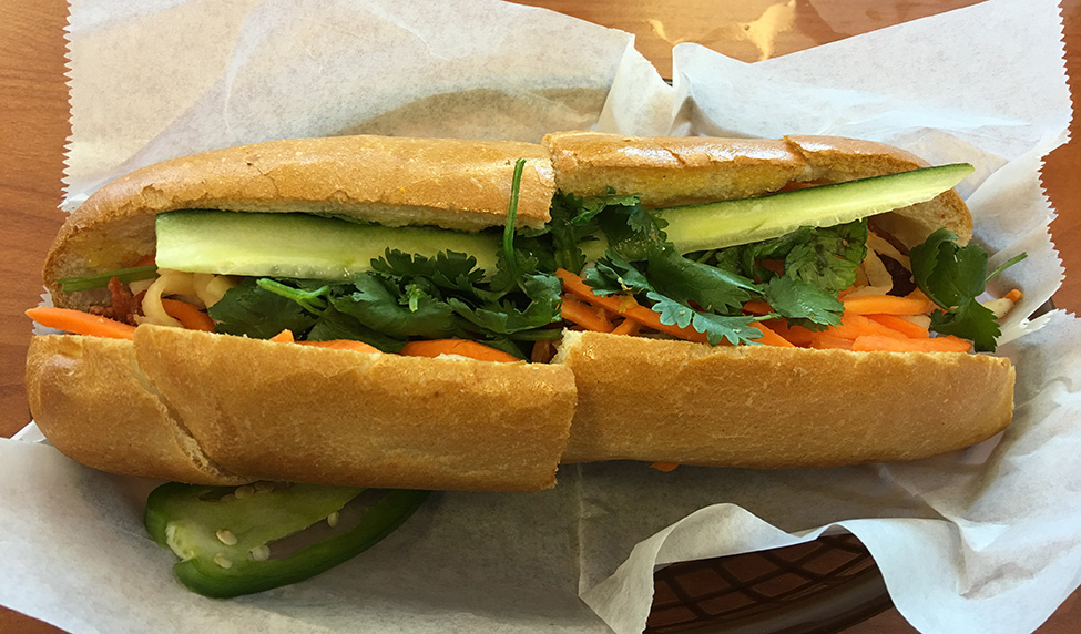Banh Mi Pork Sandwich, Lee's Bakery, Buford Highway, Atlanta