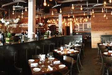 Dining Room, Little Alley Steak, Roswell, North Fulton