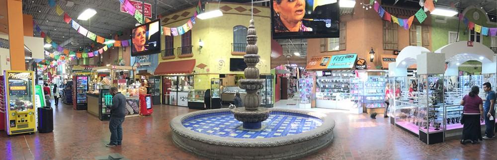 Fountain, Plaza Fiesta, Buford Highway, Chamblee