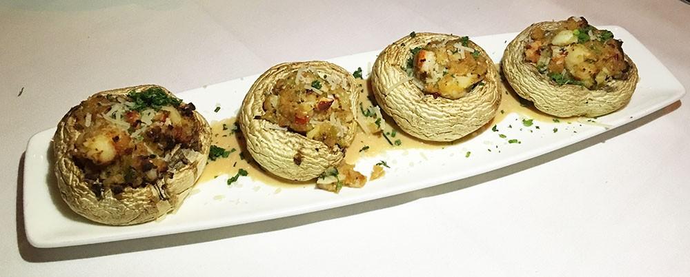 Lobster Stuffed Roasted Mushrooms, Morton's The Steakhouse, Downtown, Atlanta