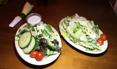 Salads at Transmetropolitan, Athens