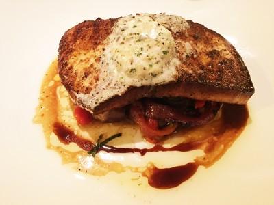 Blackened Swordfish, Drift Fish House & Oyster Bar