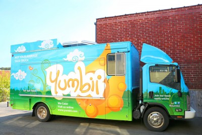Yumbii's new eco-friendly food truck