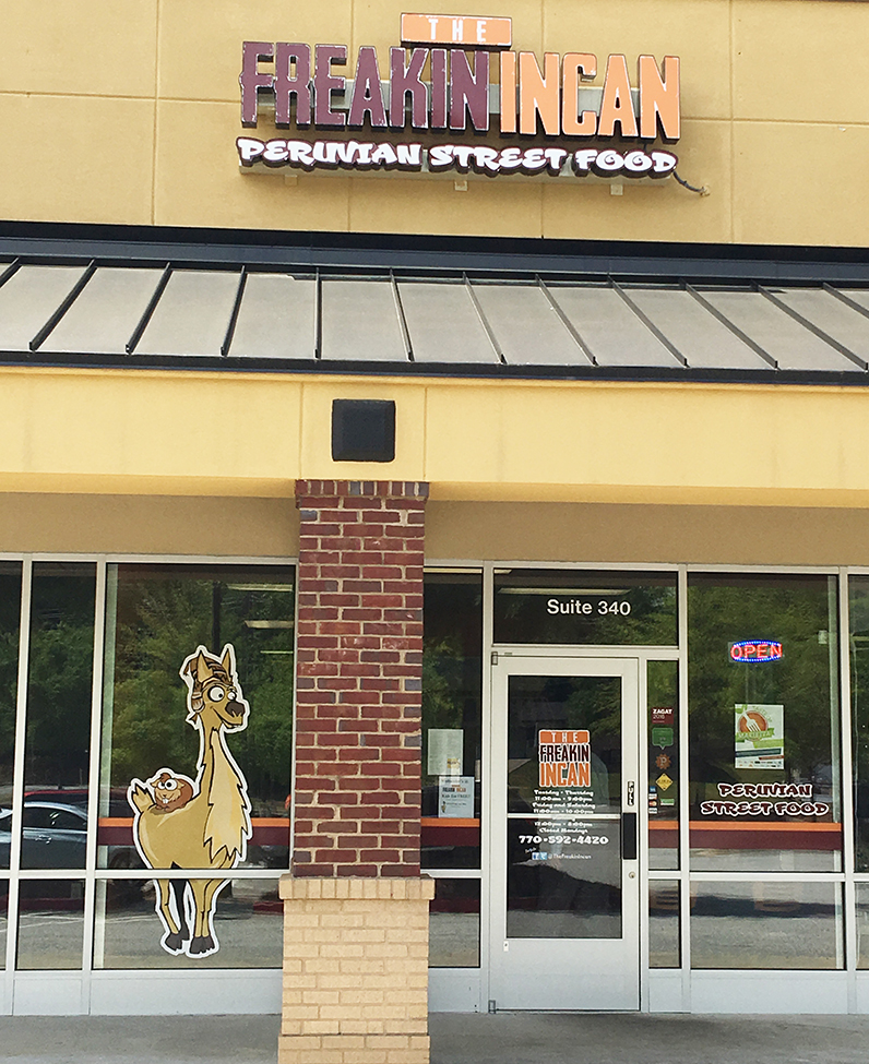 The Freakin Incan Roswell Sandy Plains Marietta Restaurant