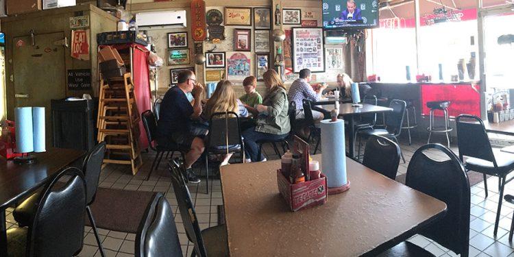 Dining Room, Saw's BBQ, Homewood, Birmingham AL