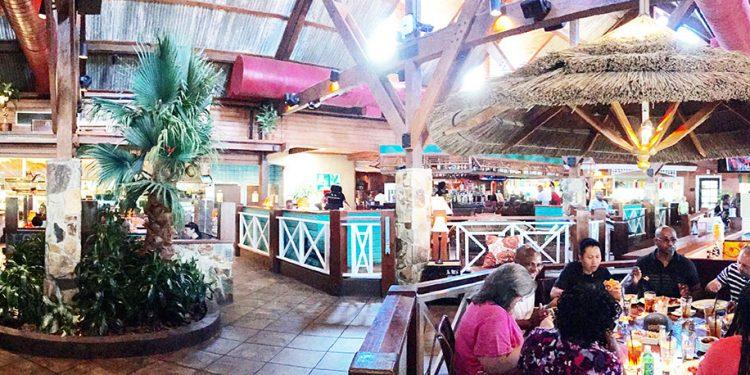 Dining Room, Bahama Breeze, Duluth, Gwinnett