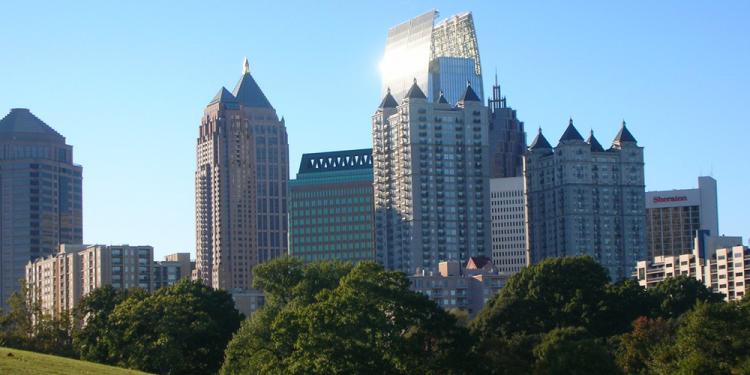Midtown Atlanta Skyline