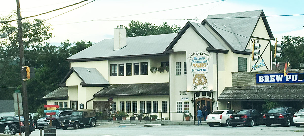 Review The Village Corner German Restaurant And Bakery Stone